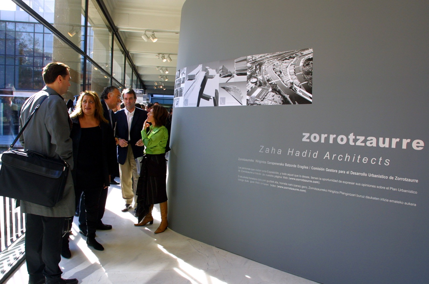 Second Anniversary Of The Passing Of Zaha Hadid, The Architect Who Designed  The Zorrotzaurre Master Plan
